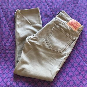 Almost New! Tan Levi's 511